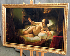 Картина пример 3 Даная